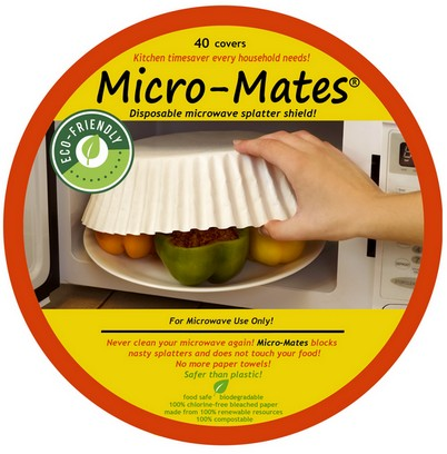 Micro Mates healthy microwave food covers